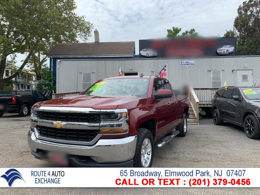 "Used Chevrolet Silverado 1500 4WD Double Cab 143.5"" LT w/1LT 2017   Route 4 Auto Exchange. Elmwood Park, New Jersey"