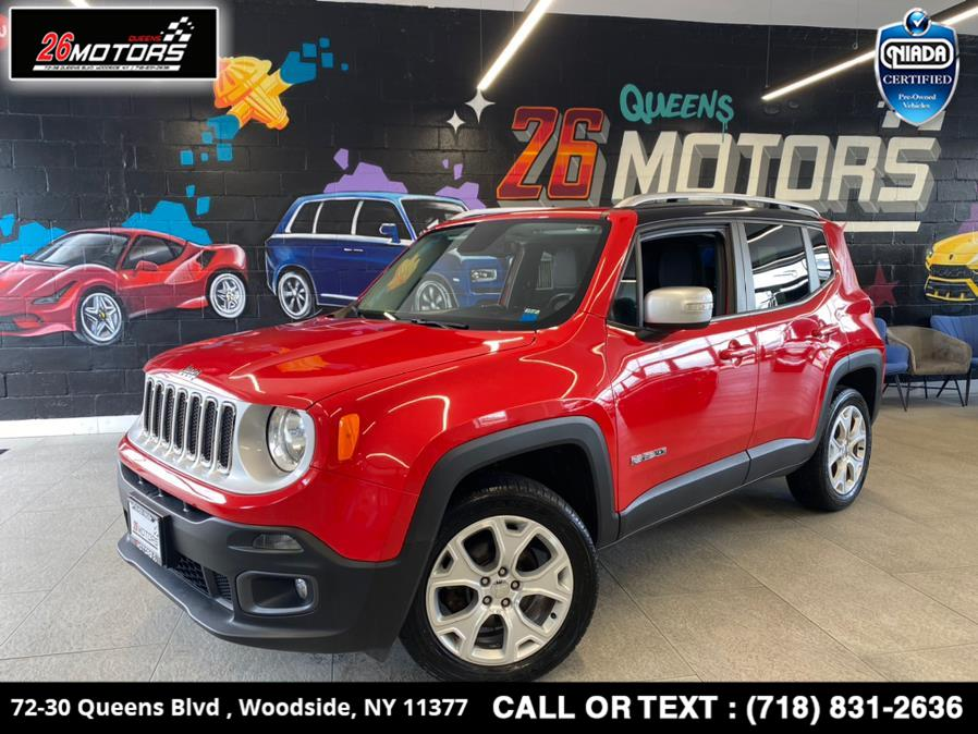 Used Jeep Renegade 4WD 4dr Limited 2016 | 26 Motors Queens. Woodside, New York