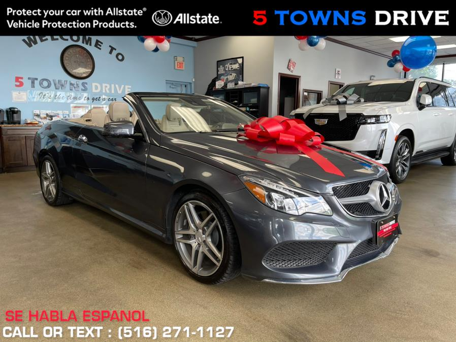 2016 Mercedes-Benz E-Class 2dr Cabriolet E 400 RWD, available for sale in Inwood, NY