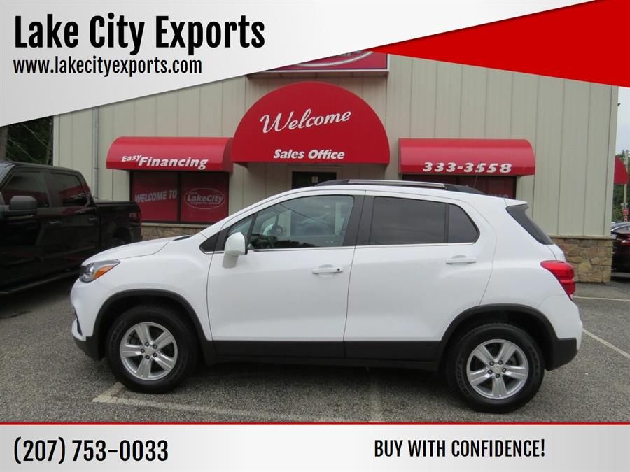 Used Chevrolet Trax LT AWD 4dr Crossover 2019 | Lake City Exports Inc. Auburn, Maine