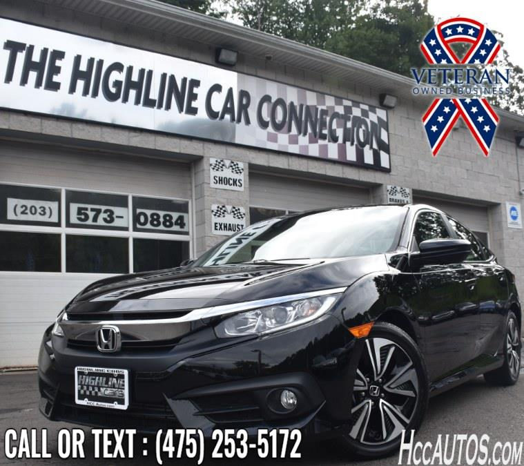Used Honda Civic Sedan EX-L CVT 2018 | Highline Car Connection. Waterbury, Connecticut
