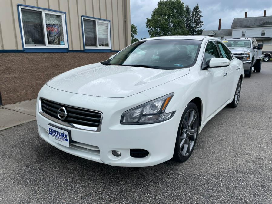 Used Nissan Maxima 4dr Sdn 3.5 SV w/Sport Pkg 2014 | Century Auto And Truck. East Windsor, Connecticut