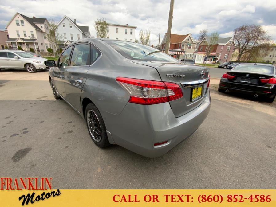 Used Nissan Sentra 4dr Sdn I4 CVT SR 2013   Franklin Motors Auto Sales LLC. Hartford, Connecticut