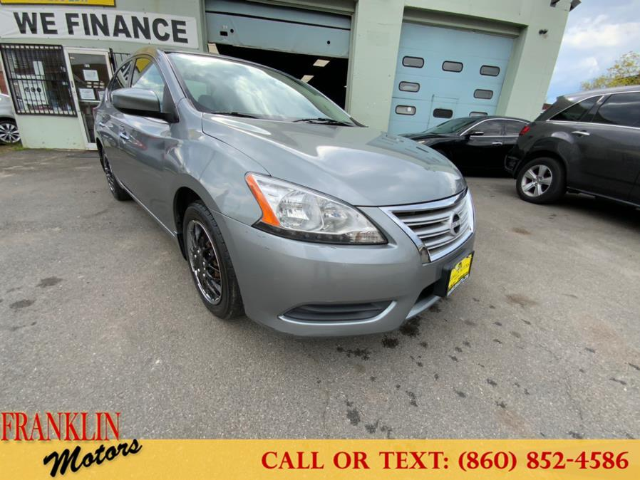 Used 2013 Nissan Sentra in Hartford, Connecticut | Franklin Motors Auto Sales LLC. Hartford, Connecticut