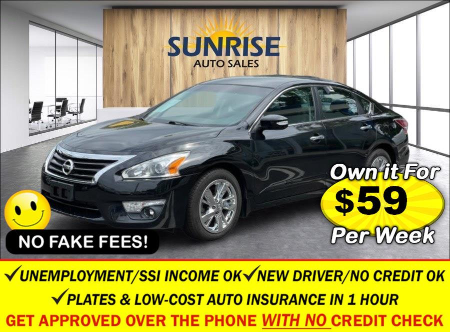 Used Nissan Altima 4dr Sdn I4 2.5 SL 2015 | Sunrise Auto Sales. Rosedale, New York