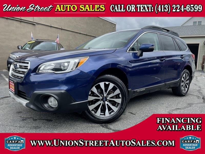 2016 Subaru Outback 4dr Wgn 2.5i Limited PZEV, available for sale in West Springfield, MA