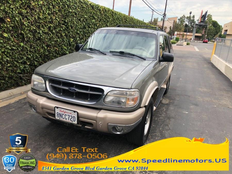 Used 2001 Ford Explorer in Garden Grove, California | Speedline Motors. Garden Grove, California