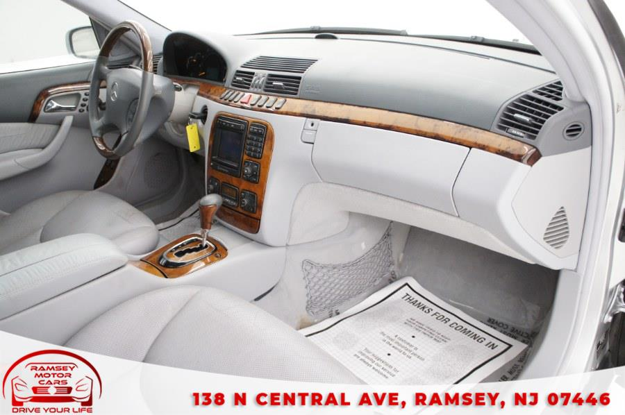 Used Mercedes-Benz S-Class 4dr Sdn AMG 2002 | Ramsey Motor Cars Inc. Ramsey, New Jersey