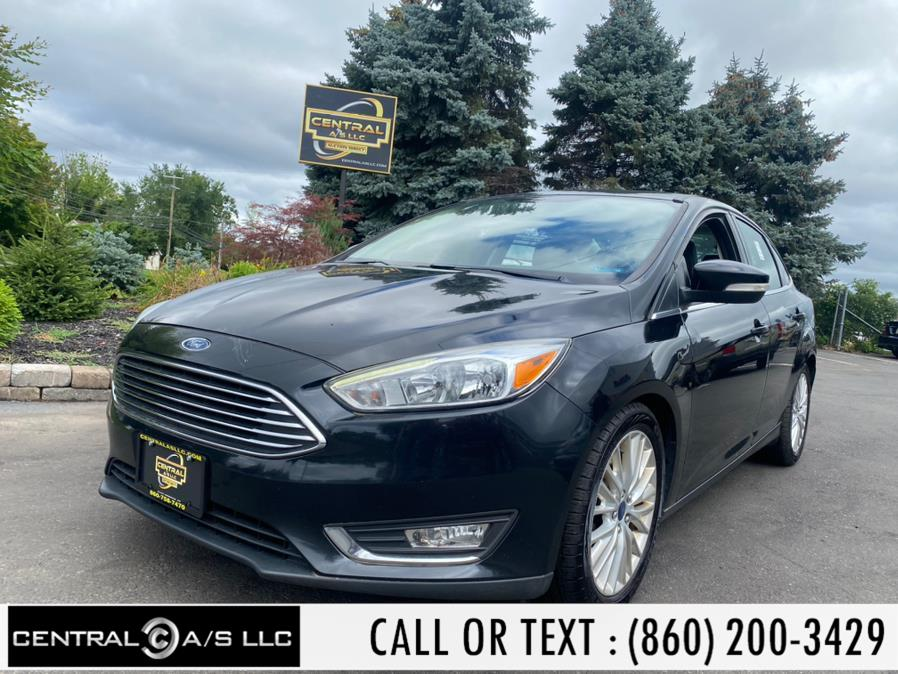 Used Ford Focus 4dr Sdn Titanium 2016 | Central A/S LLC. East Windsor, Connecticut