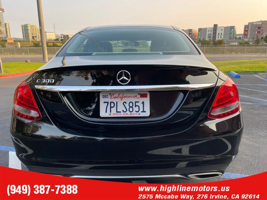 Used Mercedes-Benz C 300 4dr Sdn C300 2016 | High Line Motors LLC. Irvine, California