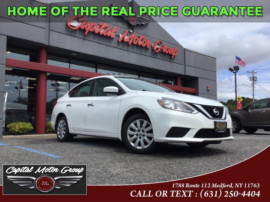 Used Nissan Sentra S CVT 2017 | Capital Motor Group Inc. Medford, New York