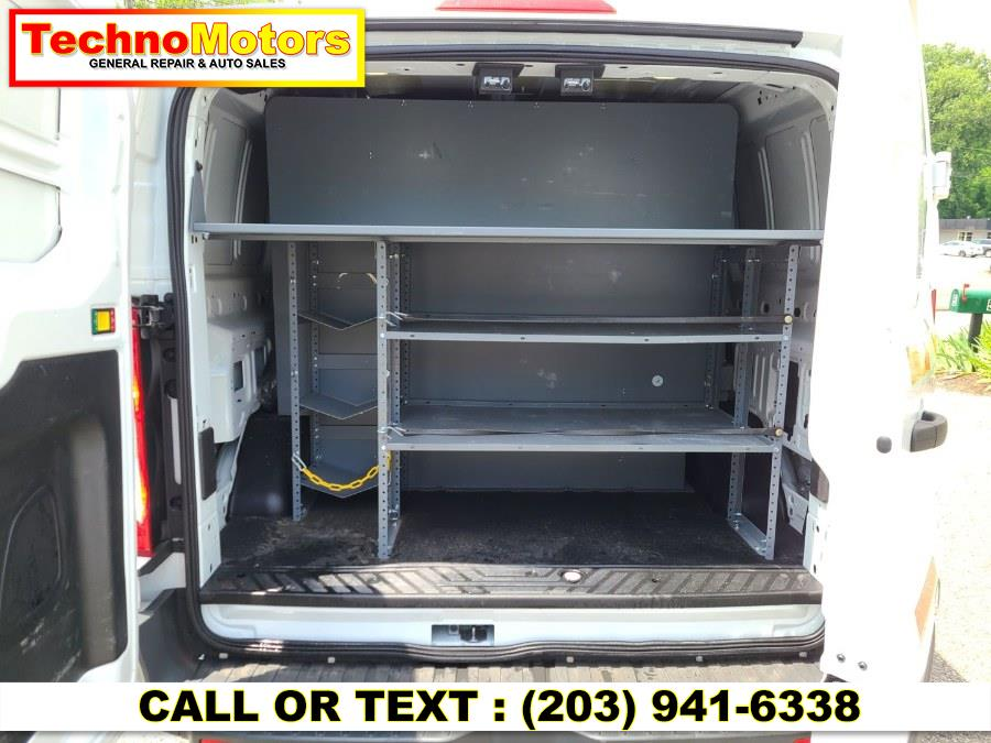 "Used Ford Transit Cargo Van T-150 130"" Low Rf 8600 GVWR Sliding RH Dr 2016   Techno Motors . Danbury , Connecticut"