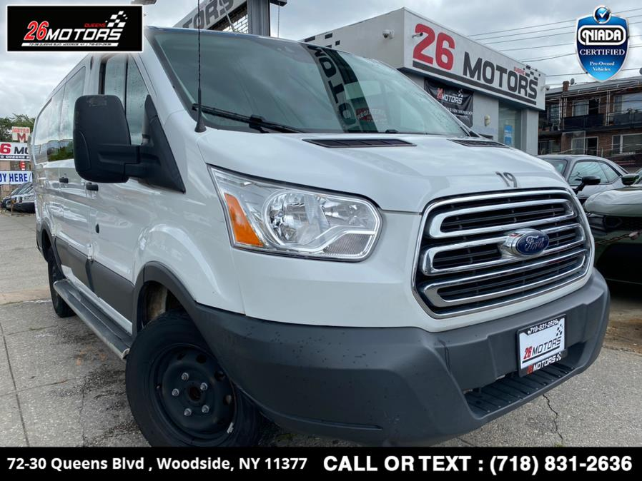 """Used Ford Transit Van T-250 130"""" Low Rf 9000 GVWR Swing-Out RH Dr 2018 