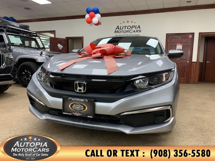 Used 2020 Honda Civic Sedan in Union, New Jersey | Autopia Motorcars Inc. Union, New Jersey