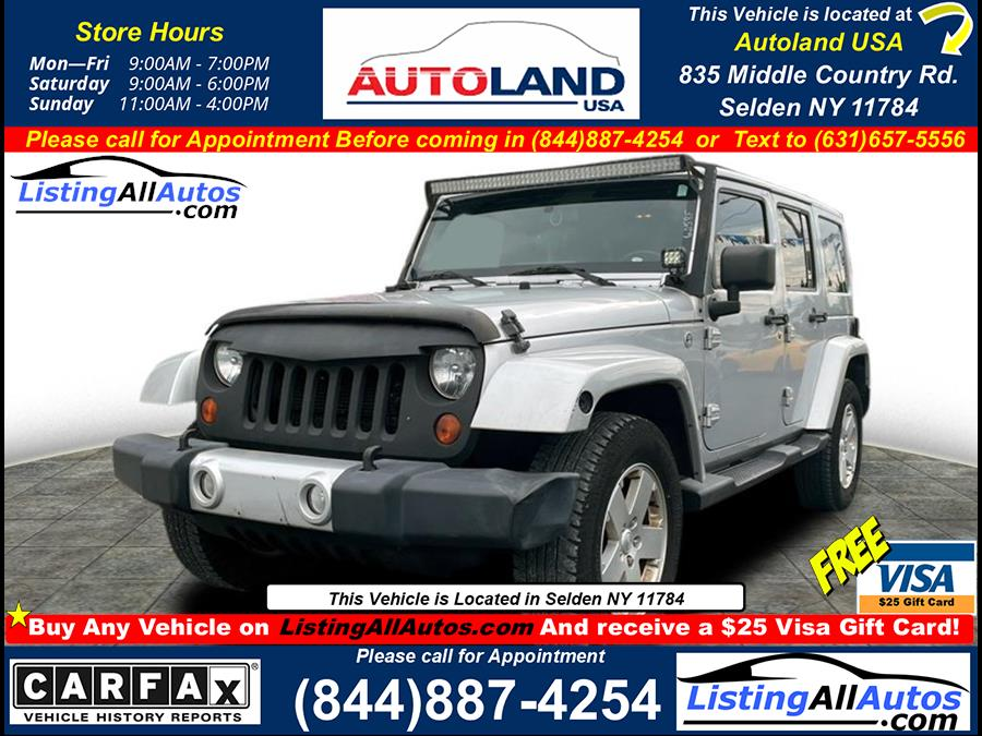 Used 2012 Jeep Wrangler Unlimited in Patchogue, New York | www.ListingAllAutos.com. Patchogue, New York