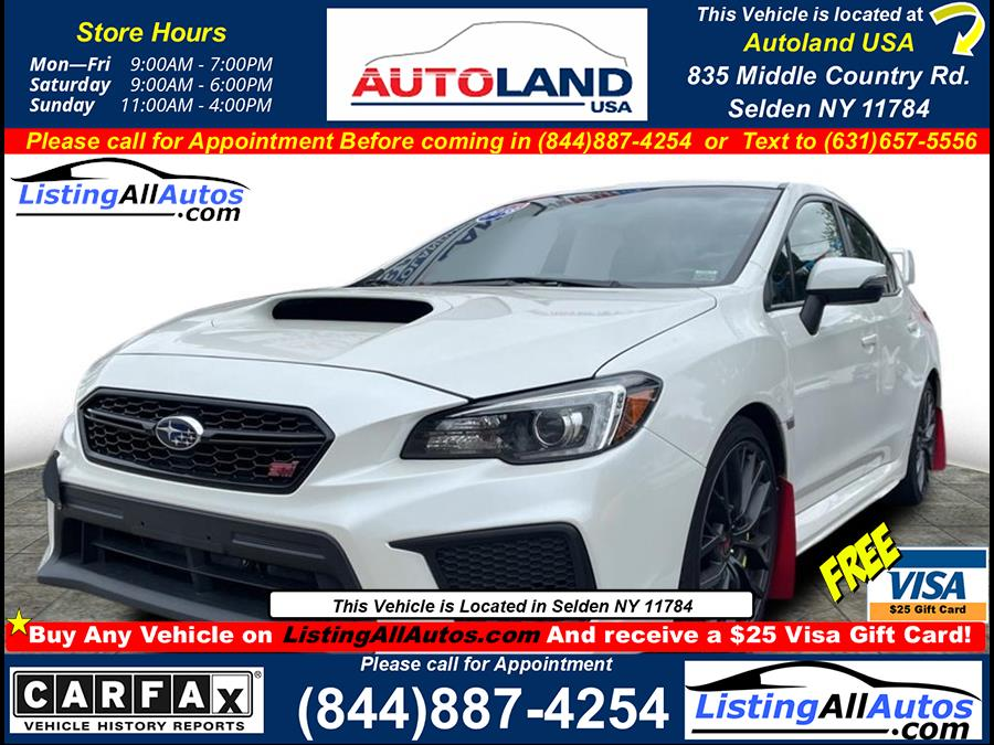 Used 2018 Subaru Wrx in Patchogue, New York | www.ListingAllAutos.com. Patchogue, New York