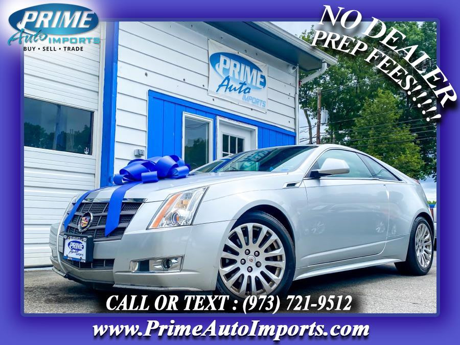 Used 2011 Cadillac CTS Coupe in Bloomingdale, New Jersey | Prime Auto Imports. Bloomingdale, New Jersey