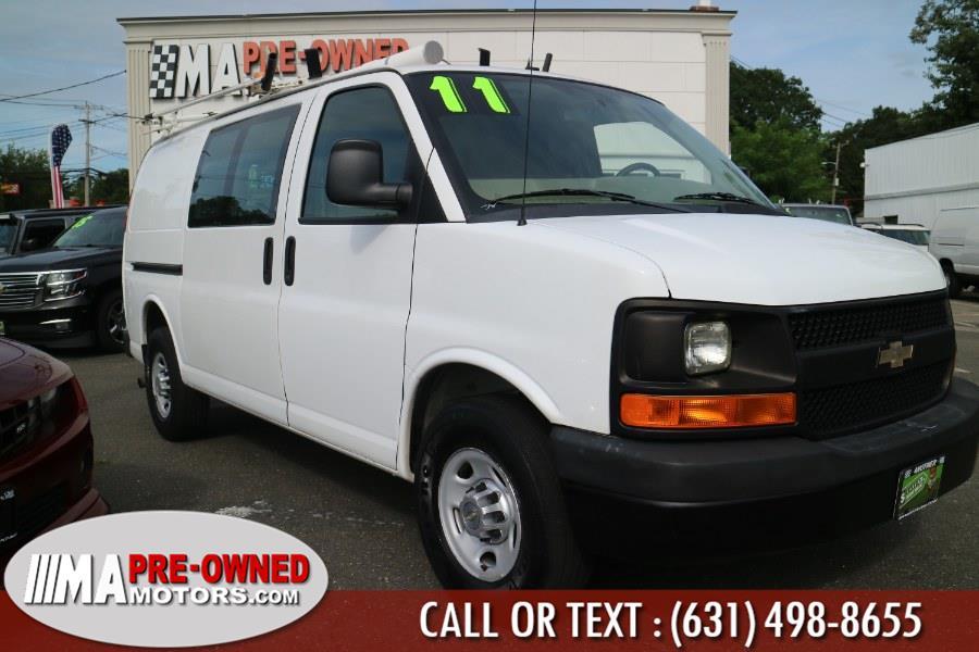 "Used Chevrolet Express Cargo Van RWD 2500 135"" 2011 | M & A Motors. Huntington, New York"