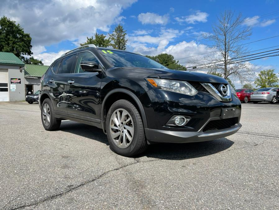 2015 Nissan Rogue AWD 4dr SL, available for sale in Merrimack, NH