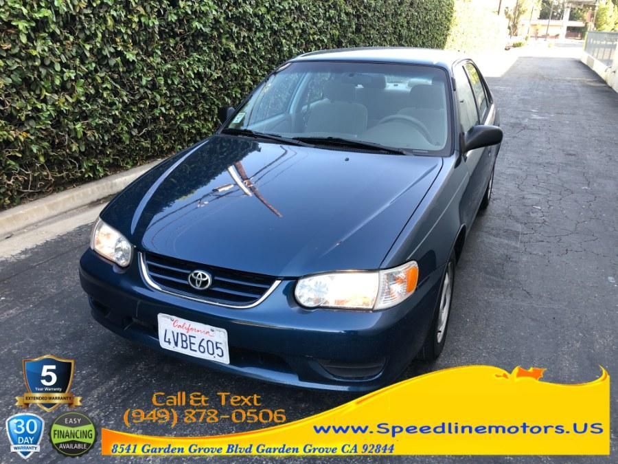 Used 2002 Toyota Corolla in Garden Grove, California   Speedline Motors. Garden Grove, California