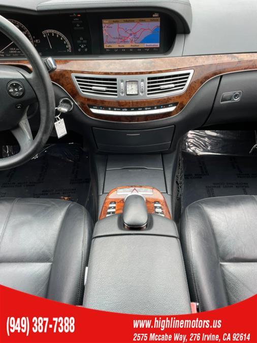Used Mercedes-Benz S 550 4dr Sdn 5.5L V8 RWD 2007   High Line Motors LLC. Irvine, California