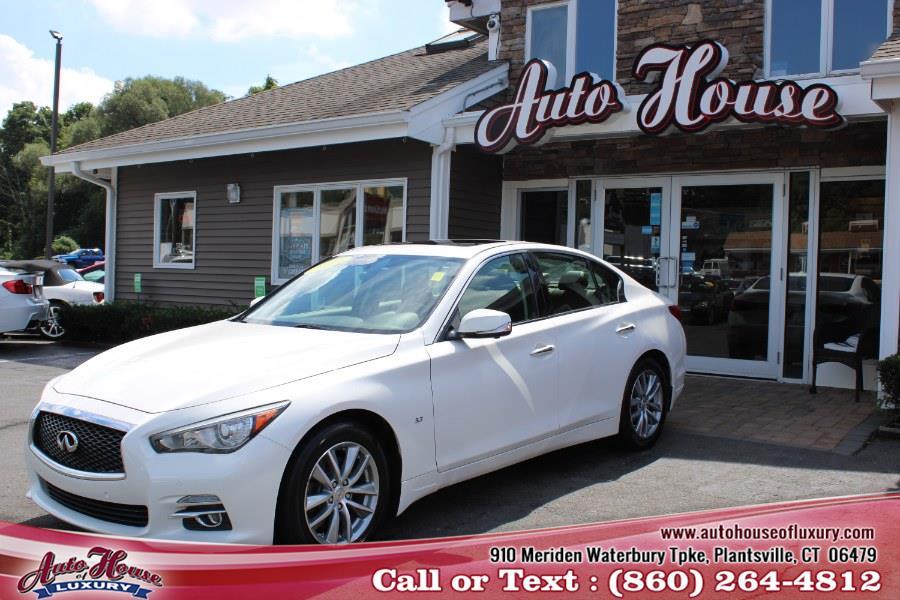 Used 2014 Infiniti Q50 in Plantsville, Connecticut | Auto House of Luxury. Plantsville, Connecticut