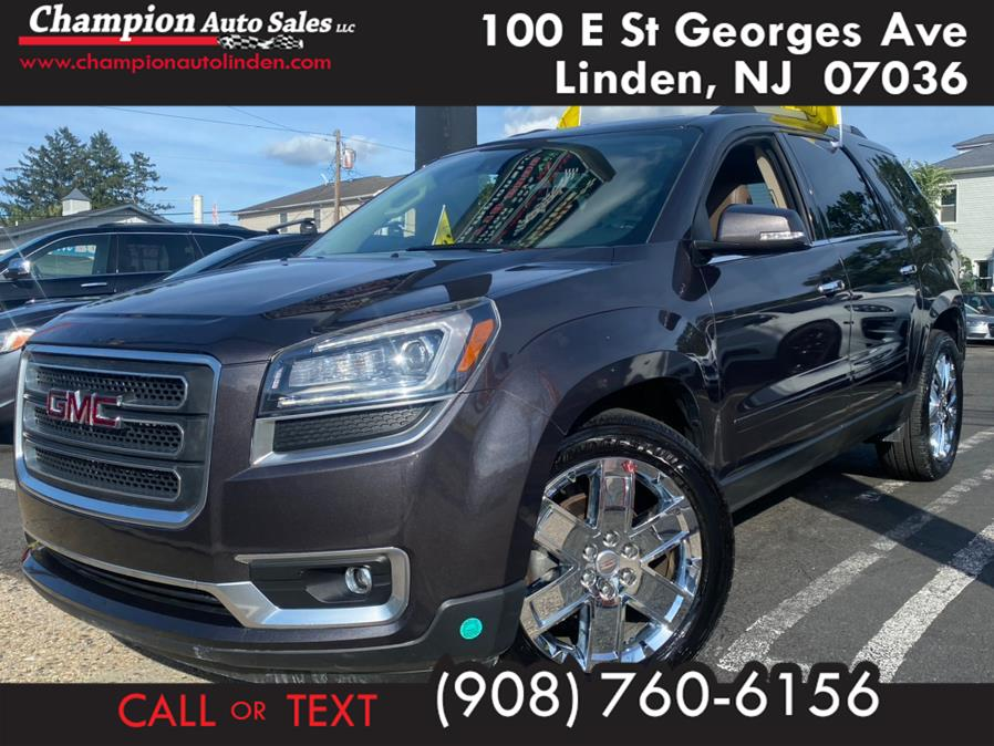 Used 2017 GMC Acadia Limited in Linden, New Jersey | Champion Used Auto Sales. Linden, New Jersey