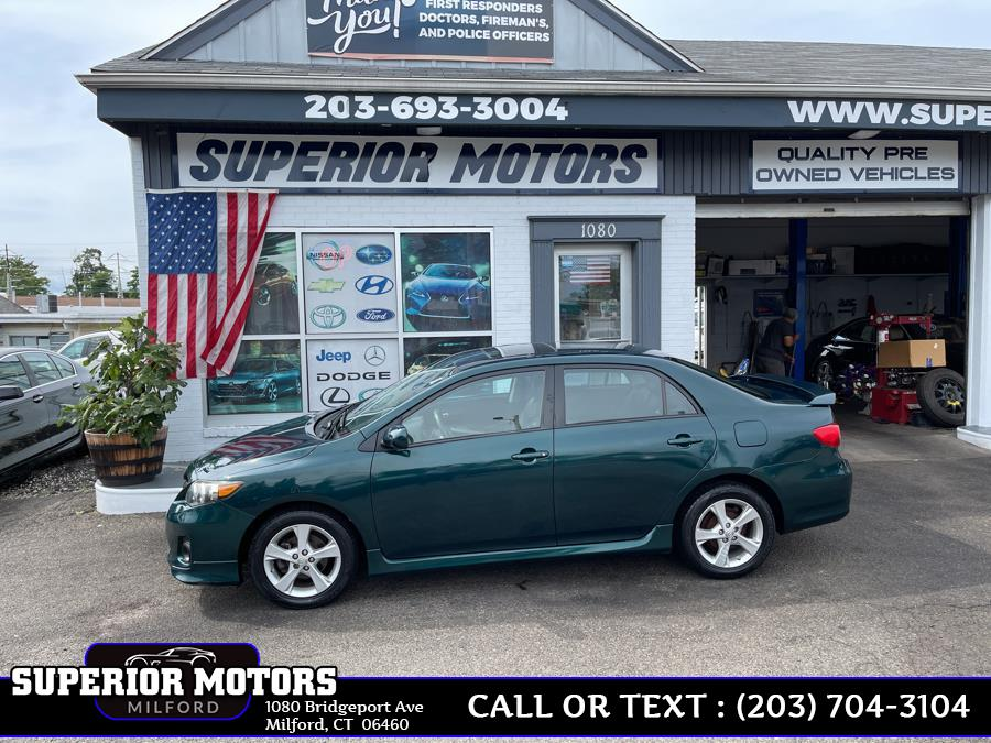Used 2012 TOYOTA COROLLA S in Milford, Connecticut | Superior Motors LLC. Milford, Connecticut