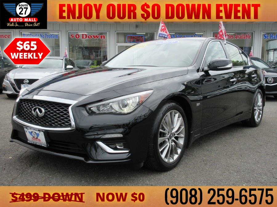 Used 2019 INFINITI Q50 in Linden, New Jersey | Route 27 Auto Mall. Linden, New Jersey