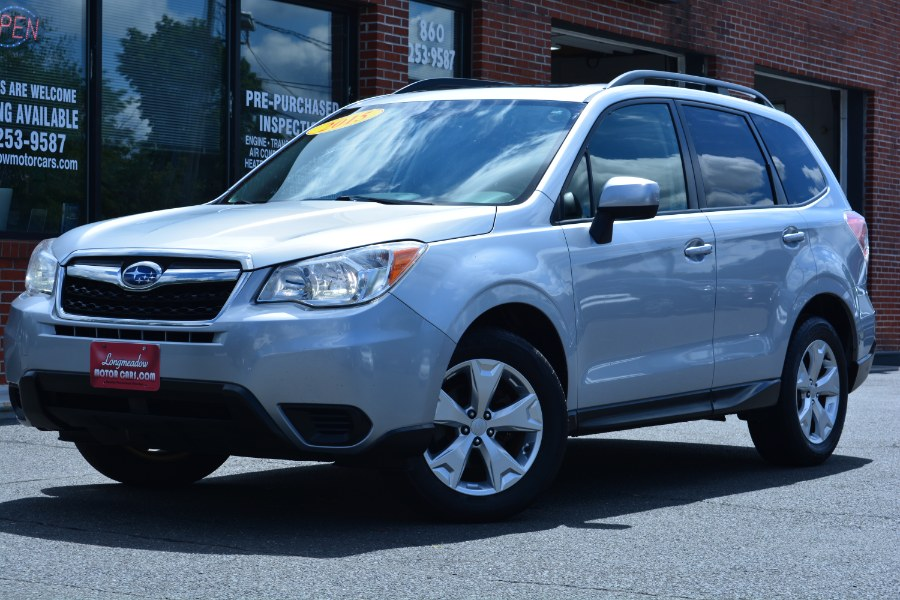 Used 2015 Subaru Forester in ENFIELD, Connecticut | Longmeadow Motor Cars. ENFIELD, Connecticut