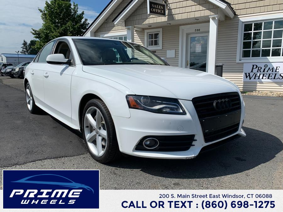Used 2012 Audi A4 in East Windsor, Connecticut | Prime Wheels. East Windsor, Connecticut