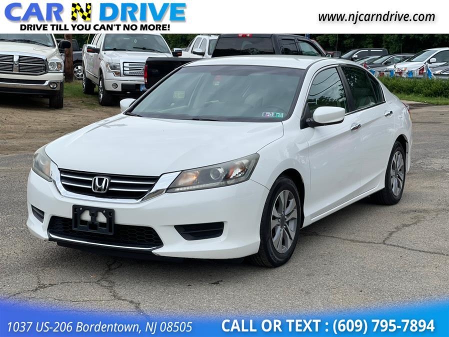 Used Honda Accord LX Sedan CVT 2014   Car N Drive. Bordentown, New Jersey