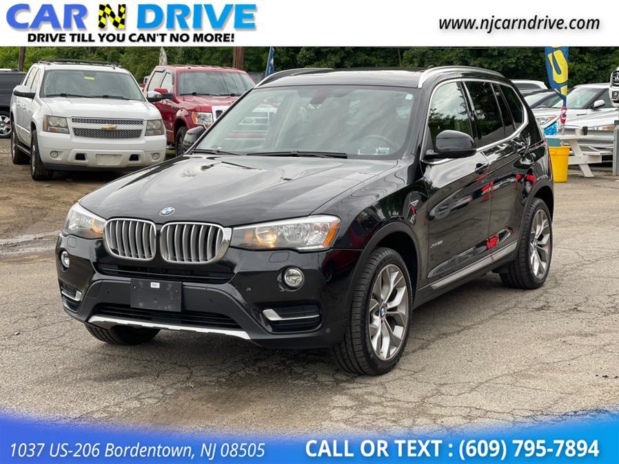 Used BMW X3 xDrive28i 2016 | Car N Drive. Bordentown, New Jersey