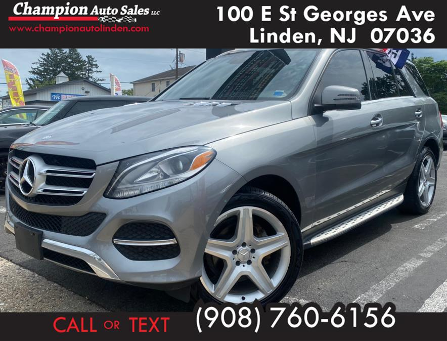 Used 2016 Mercedes-Benz GLE in Linden, New Jersey | Champion Auto Sales. Linden, New Jersey