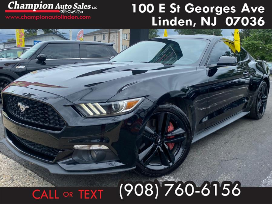 Used 2017 Ford Mustang in Linden, New Jersey | Champion Auto Sales. Linden, New Jersey