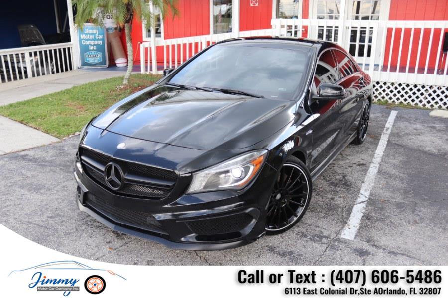 Used Mercedes-Benz CLA-Class 4dr Sdn CLA45 AMG 4MATIC 2014   Jimmy Motor Car Company Inc. Orlando, Florida
