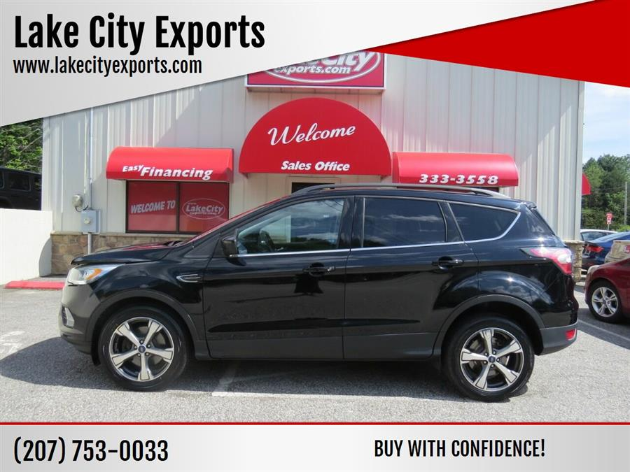 Used Ford Escape SE AWD 4dr SUV 2017   Lake City Exports Inc. Auburn, Maine