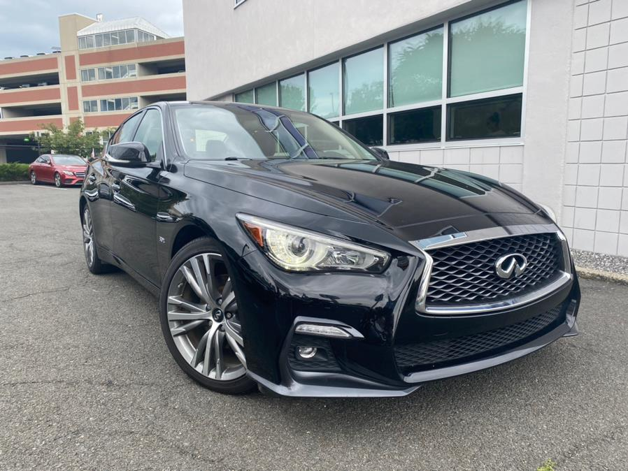 Used INFINITI Q50 3.0t LUXE AWD 2018 | Apex Westchester Used Vehicles. White Plains, New York