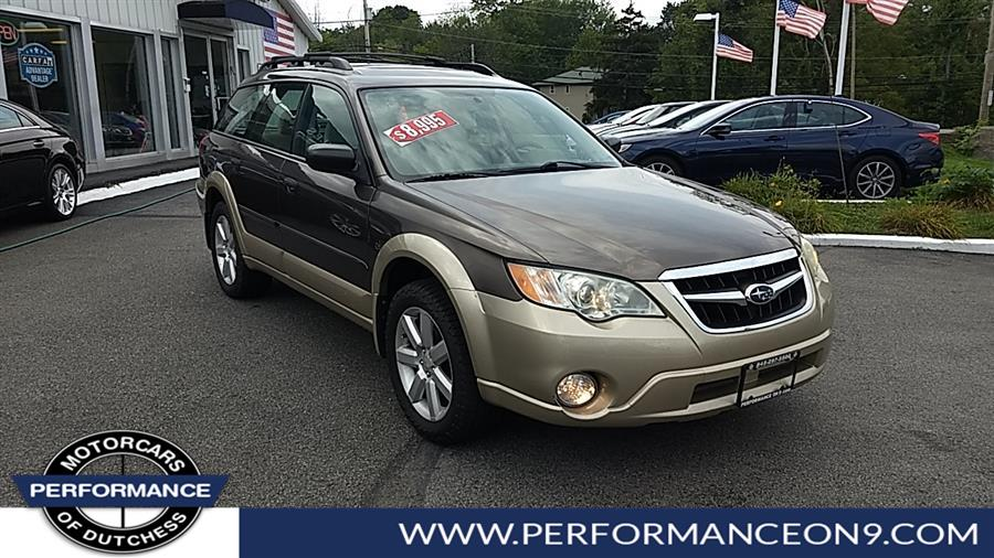 Used Subaru Outback 4dr H4 Auto 2.5i 2008 | Performance Motorcars Inc. Wappingers Falls, New York