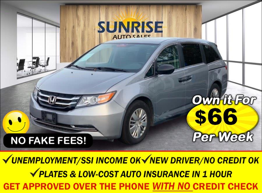 Used Honda Odyssey 5dr LX 2016 | Sunrise Auto Sales. Rosedale, New York