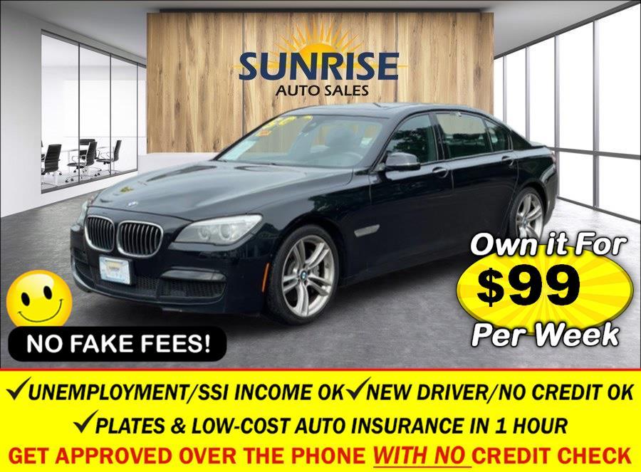 Used BMW 7 Series 4dr Sdn 750Li xDrive AWD 2014 | Sunrise Auto Sales. Rosedale, New York