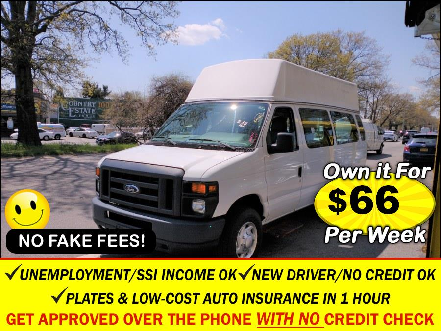 Used Ford Econoline Cargo Van E-250 Ext Commercial 2013 | Sunrise Auto Sales. Rosedale, New York