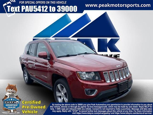 Used Jeep Compass High Altitude 4x4 2017 | Peak Automotive Inc.. Bayshore, New York