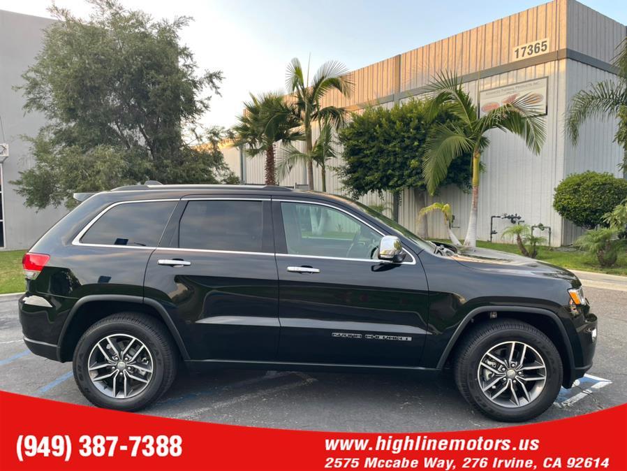 Used Jeep Grand Cherokee Limited 4x2 2018   High Line Motors LLC. Irvine, California