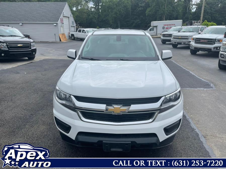 "Used Chevrolet Colorado 4WD Crew Cab 128.3"" Work Truck 2018 | Apex Auto. Selden, New York"