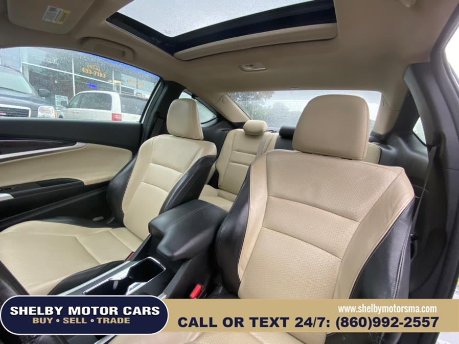 Used Honda Accord Cpe 2dr V6 Auto EX-L 2013   Shelby Motor Cars. Springfield, Massachusetts