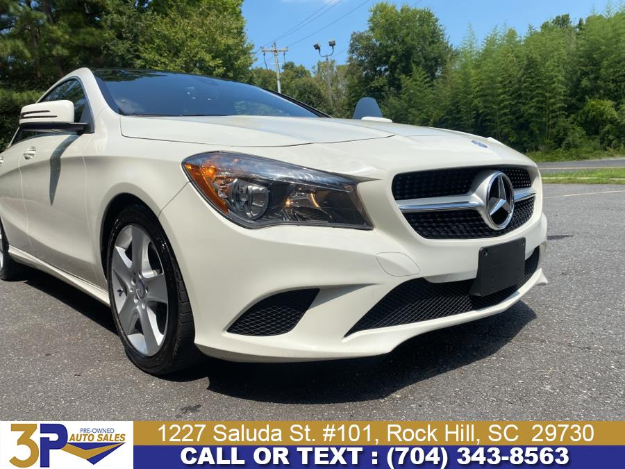 Used Mercedes-Benz CLA-Class 4dr Sdn CLA 250 4MATIC 2015   3 Points Auto Sales. Rock Hill, South Carolina