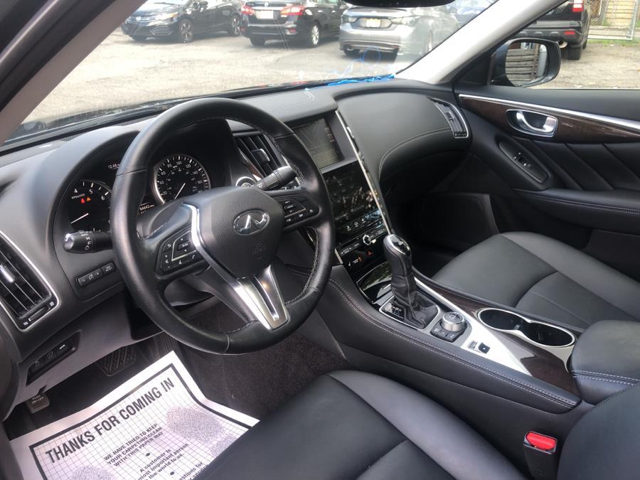 Used INFINITI Q50 2.0t LUXE AWD 2018 | Auto Haus of Irvington Corp. Irvington , New Jersey