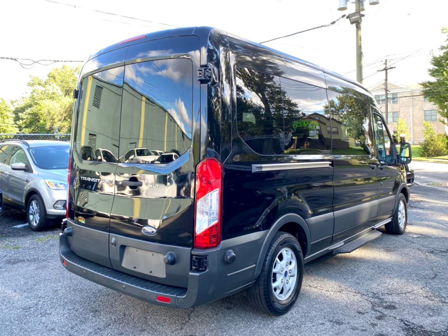 """Used Ford Transit Wagon T-350 148"""" Med Roof XLT Sliding RH Dr 2016   Easy Credit of Jersey. South Hackensack, New Jersey"""