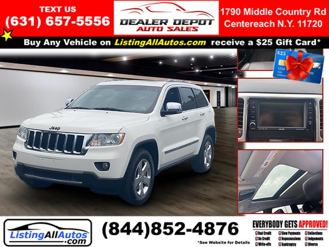 Used 2011 Jeep Grand Cherokee in Patchogue, New York | www.ListingAllAutos.com. Patchogue, New York